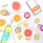 White Citrus Sangria // JustineCelina.com