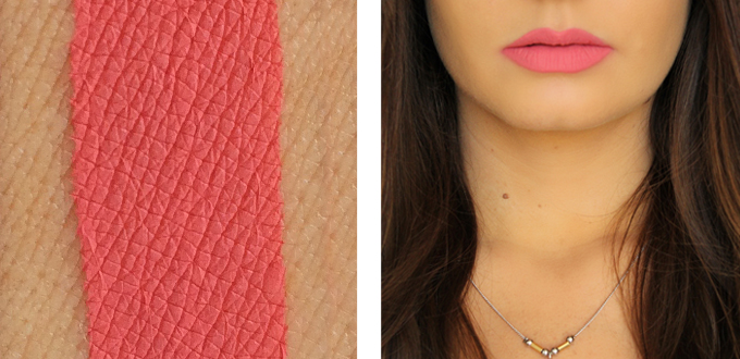 Colourpop Ultra Matte Lip in Donut Photos, Review, Swatches // JustineCelina.com