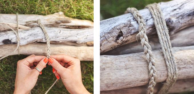 DIY | Driftwood Sculpture Centerpiece // JustineCelina.com