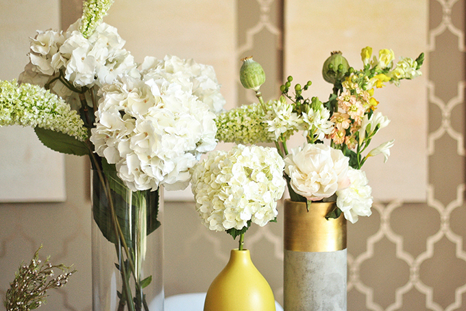 Styling a Summer TableTop  // JustineCelina.com