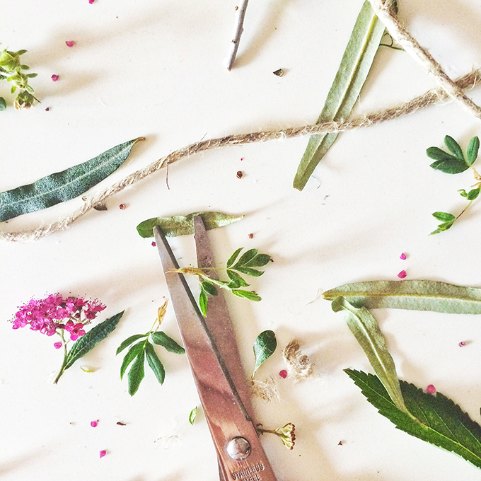 DIY | Wildflower Bundles // JustineCelina.com