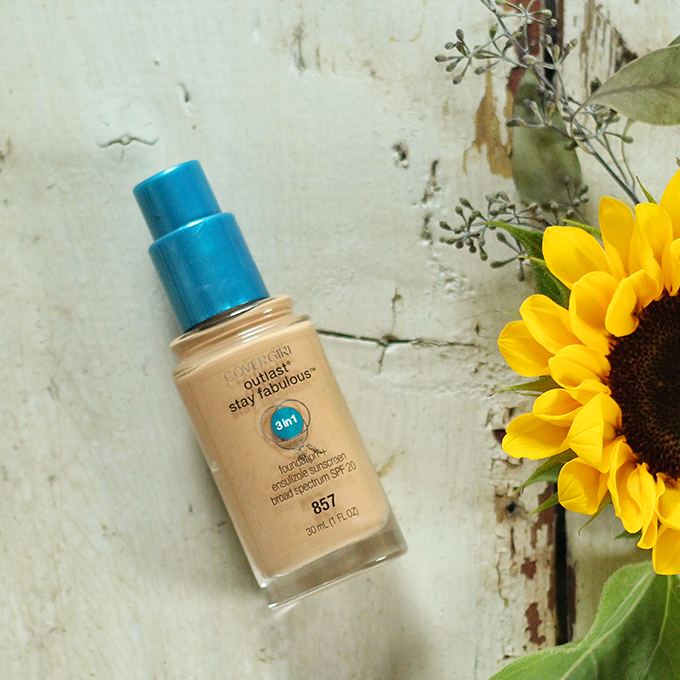 Best in Beauty | August 2015 | Covergirl Outlast Stay Fabulous 3 in 1 Foundation in 857 Golden Tan Photos, Review, Swatches // JustineCelina.com