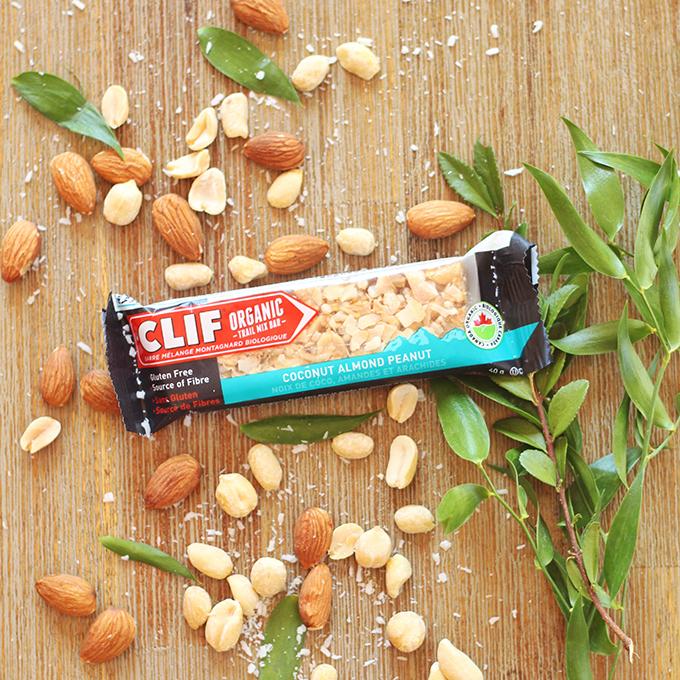 Clif Coconut Almond Peanut Organic Trail Mix Bar Review // JustineCelina.com