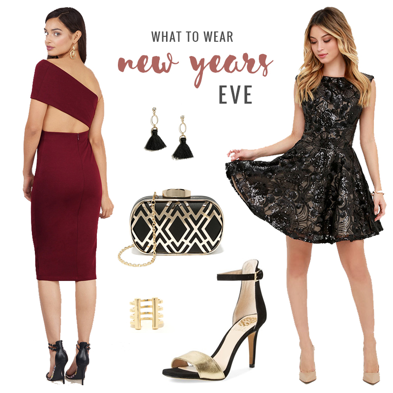 What to Wear | New Years Eve Party // JustineCelina.com