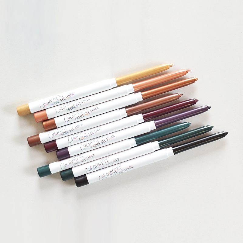 Colourpop Crème Gel Liner Photos, Review, Swatches // JustineCelina.com