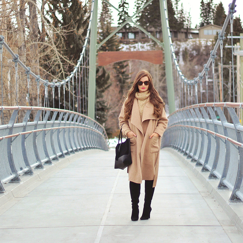 Cozy in Camel | My Favourite Transitional Pieces from Winter to Spring // JustineCelina.com