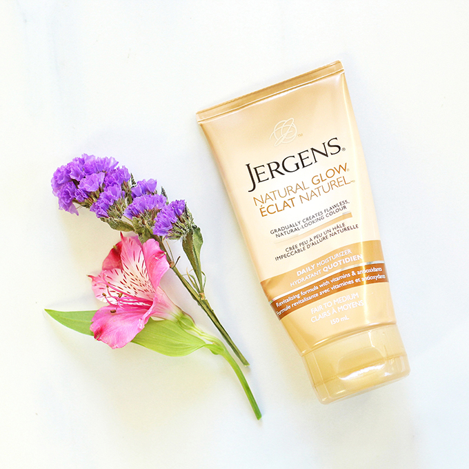 Jergens Natural Glow Daily Moisturizer in Fair To Medium Photos, Review, Swatches // January 2016 Beauty Favourites // JustineCelina.com