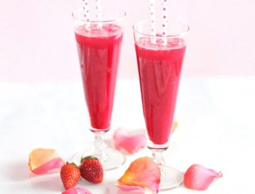 Blushing Beet Juice // JustineCelina.com