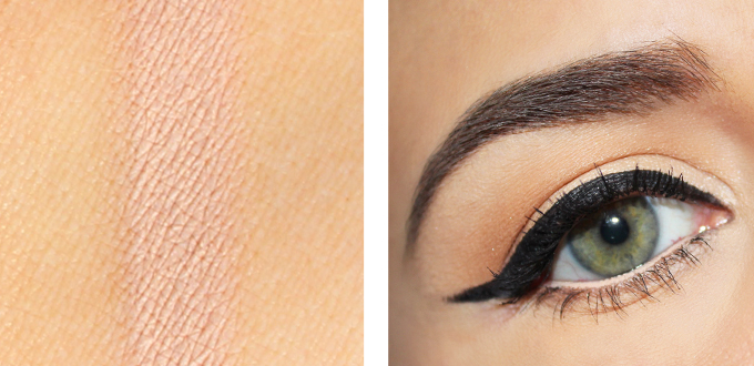 Jordana 12 HR Made to Last Eyeshadow Pencil in Continuous Almond Photos, Review, Swatches // JustineCelina.com