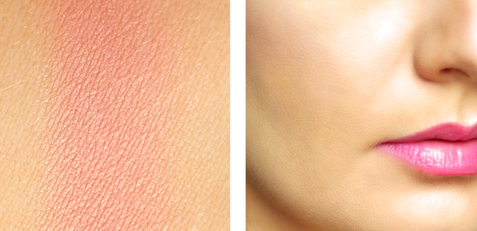 Makeup Geek Blush in Romance Photos, Review, Swatches // JustineCelina.com