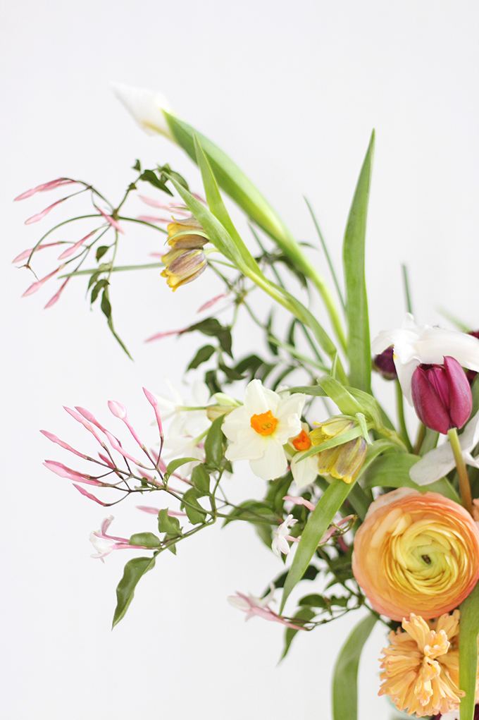 An Introduction to Spring Flowers   Fritillaria // JustineCelina.com