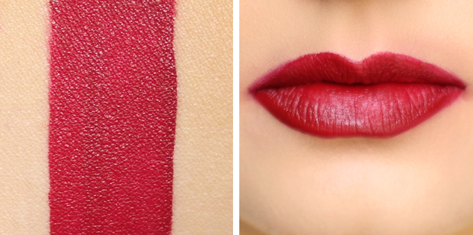 Colourpop Ultra Matte Lip in Lost Photos, Review, Swatches // JustineCelina.com