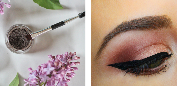 Best in Beauty   May 2015 // Anastasia Beverly Hills DIPBROW™ Pomade in Dark Brown Photos, Review, Swatches // JustineCelina.com
