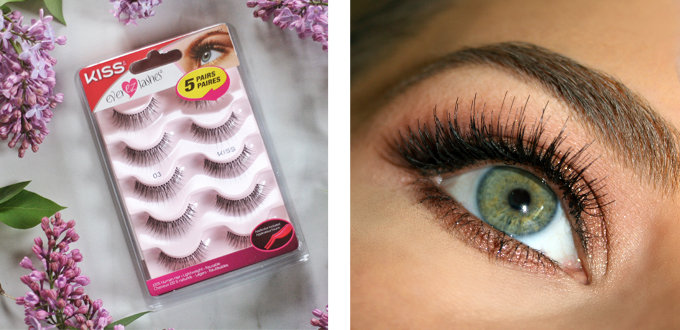 Best in Beauty | May 2015 // Kiss Ever EZ Lashes Multipack in 03 Photos, Review // JustineCelina.com