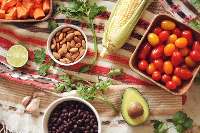 Vegan Southwest Quinoa Bowls // JustineCelina.com