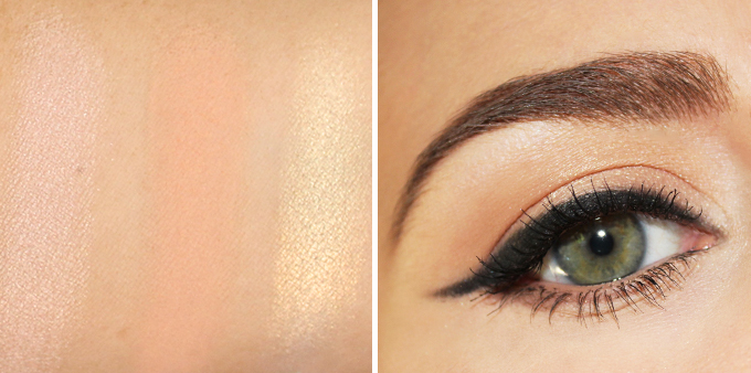Makeup Geek Eyeshadows in Shimma Shimma, Peach Smoothie and Voltage Photos, Review, Swatches // JustineCelina.com