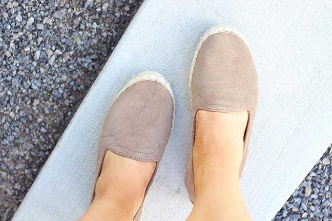 Shoes of Summer + End of Season Sales   GAP Espadrilles // JustineCelina.com