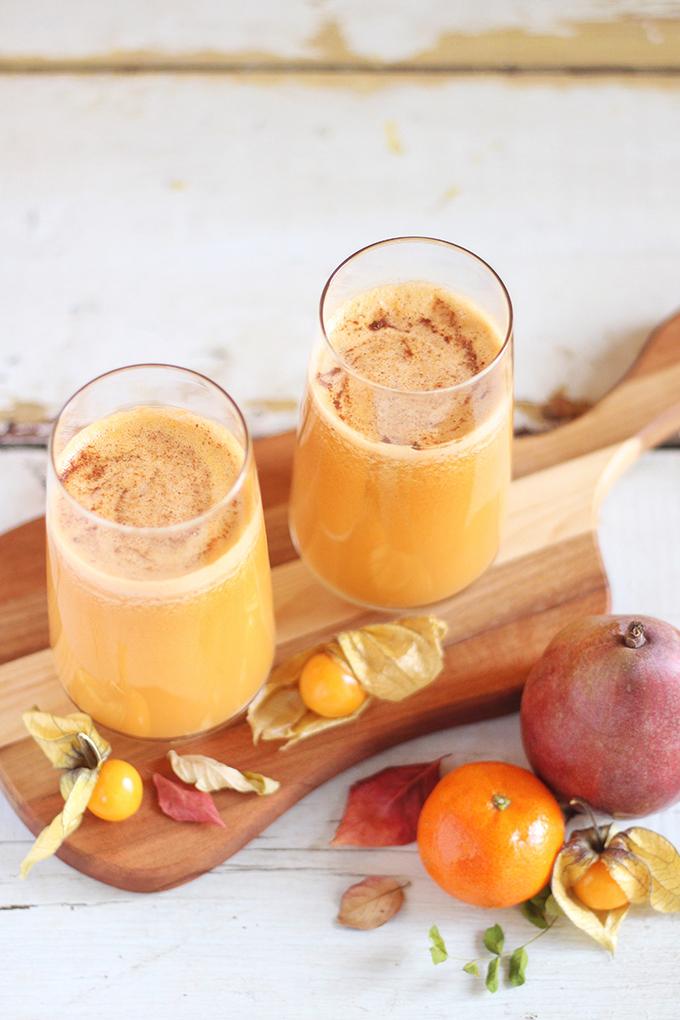 Autumn Energizer Juice // JustineCelina.com