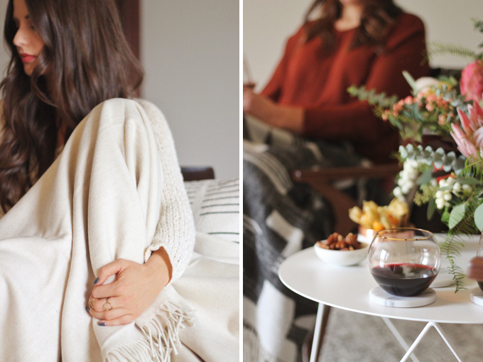 A Cozy Girls Night In // JustineCelina.com