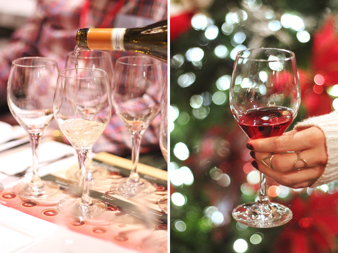 Christmas in November 2016 at the Fairmont Jasper Park Lodge | Viva Italy Wine Tasting // JustineCelina.com