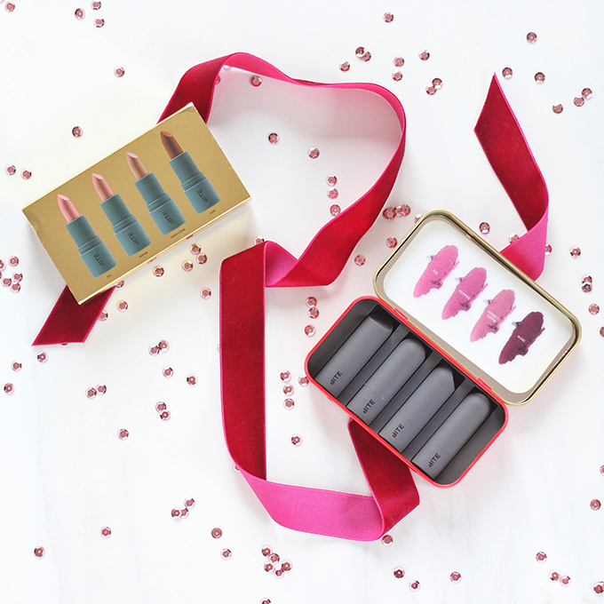 Holiday 2016 Gift Guide for Beauty Lovers | Bite Beauty The Perfect Bite Set Photos, Review // JustineCelina.com