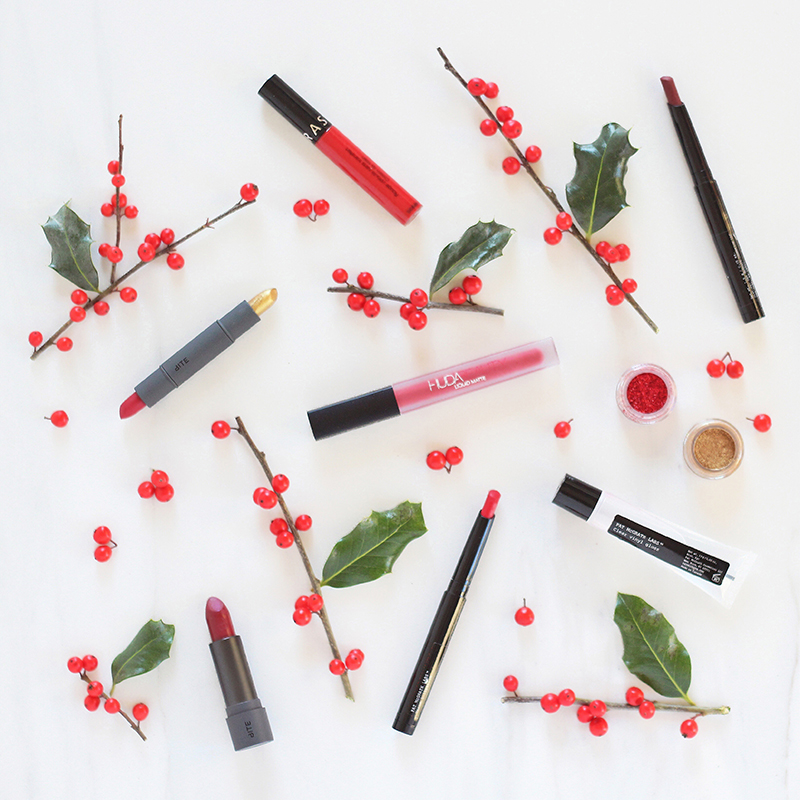 5 Festive Lipsticks to try this Holiday Season // JustineCelina.com