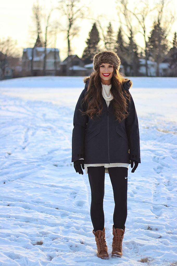 Winter Activewear Essentials | SportChek Holiday 2016 // JustineCelina.com
