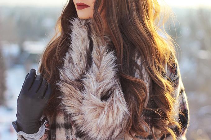 Winter Style Staples | Kat Von D Everlasting Liquid Lipstick in Plath Photos, Swatches // JustineCelina.com