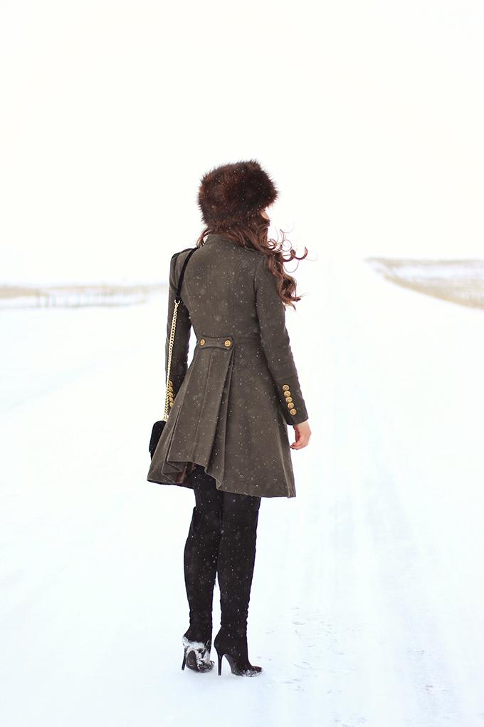 Military Inspired // JustineCelina.com