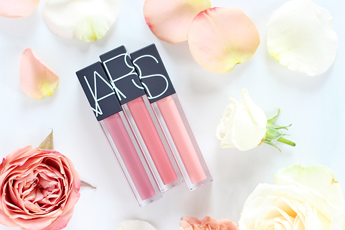 NARS Velvet Lip Glide Photos, Review // Spring 2017 Beauty Trend Guide // JustineCelina