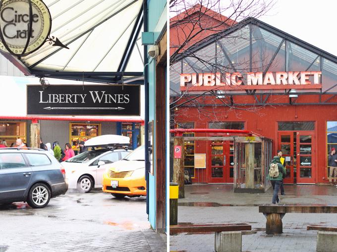 Travel Guide | Granville Island Public Market, Liberty Wines // JustineCelina.com