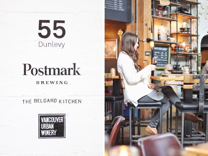Vancouver Travel Guide | The Belgard Kitchen, Vancouver Urban Winery / JustineCelina.com