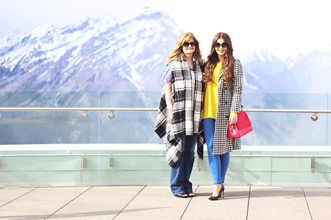 Mother's Day on at the Sky Bistro in Banff, Alberta   Brewster Travel Canada   Sulphur Mountain, Banff Gondola   // JustineCelina.com