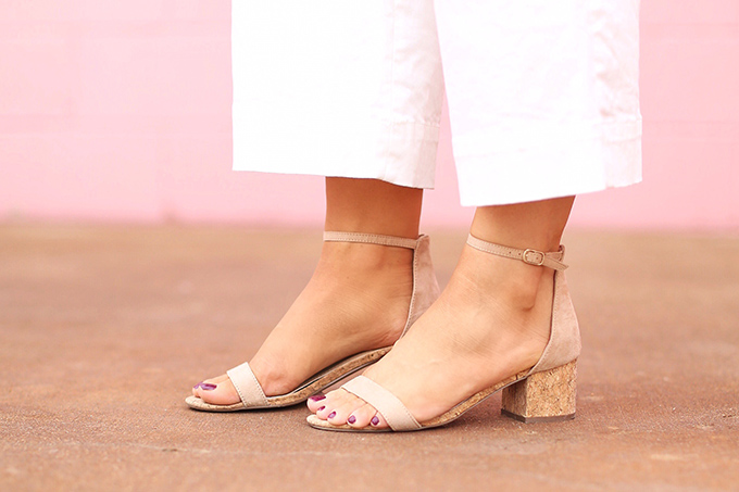 Summer to Autumn 2017 Trend Guide | Orange Crush | Cork Sandals // JustineCelina.com