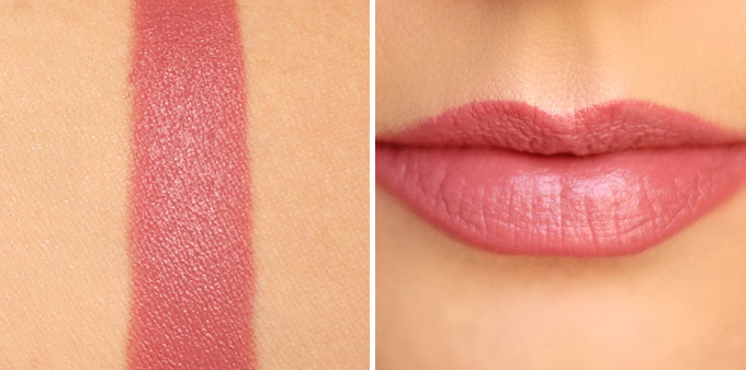 NARS Audacious Lipstick in Apoline Photos, Review, Swatches // JustineCelina.com