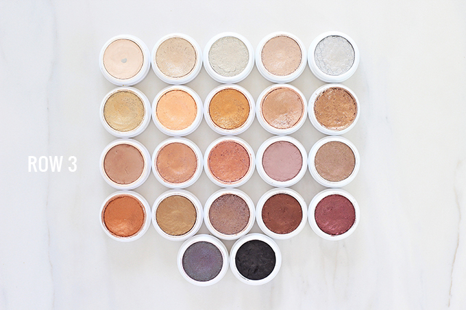 Colourpop Super Shock Shadows Photos, Review & Swatches | The Best Colourpop Super Shock Shadows // JustineCelina.com