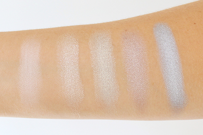 Colourpop Super Shock Shadows in Glow, Fringe, Glitterati, I (Heart) This and Liberty | Photos, Review, Swatches on NC 30 skin // JustineCelina.com