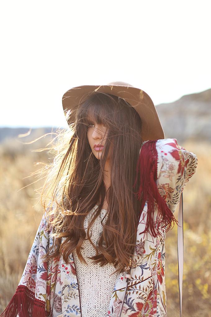 How to Style   Kimonos for Autumn // JustineCelina.com