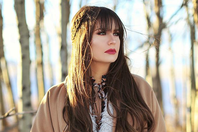How to Style | Midi Dresses for Winter 2018 | Winter 2018 Beauty Favourite | Calgary, Alberta Fashion & Beauty Blogger // JustineCelina.com