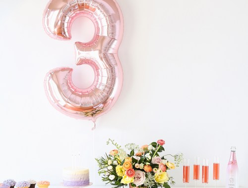 My 3rd Blogiversary + 10 Things I Learned in my Third Year of Blogging | Tips for New or Aspiring Bloggers | A Pantone Spring 2018 Inspired Birthday Celebration // JustineCelina.com