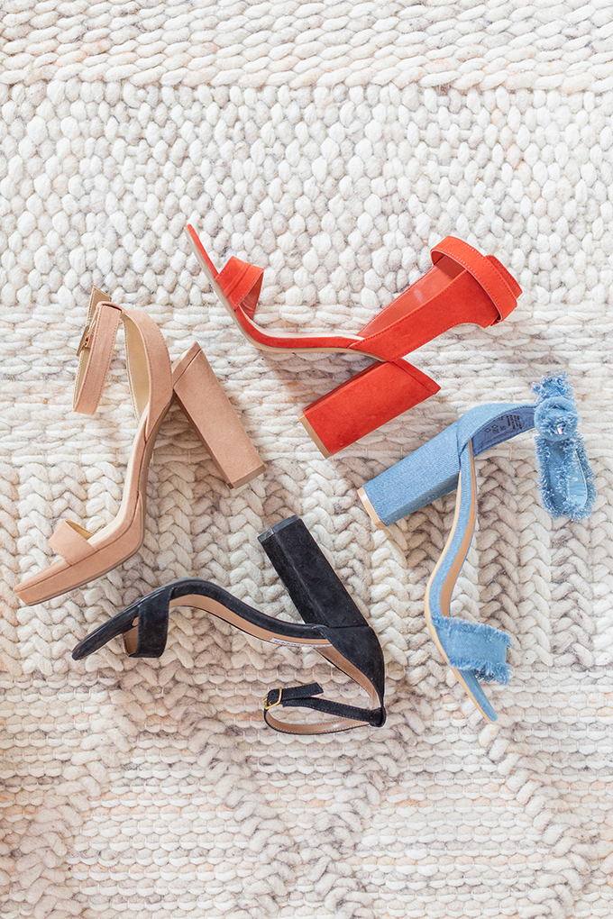 Transitional Shoe Guide | Summer to Autumn 2018 // The Best Shoes to Transition from Summer into Fall | Top Shoe Trends 2018 | Block Heel // JustineCelina.com