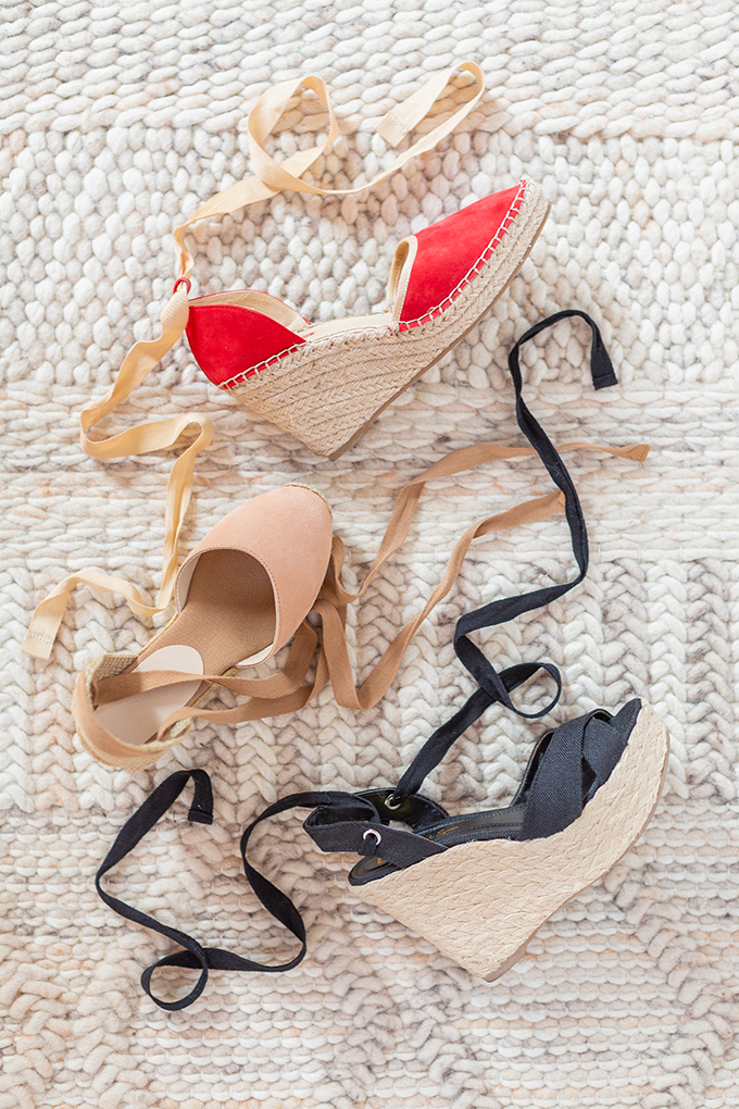 Transitional Shoe Guide | Summer to Autumn 2018 // The Best Shoes to Transition from Summer into Fall | Top Shoe Trends 2018 | Espadrilles | Best Castañer Dupes for under $100 Aldo Muschett Espadrilles // JustineCelina.com