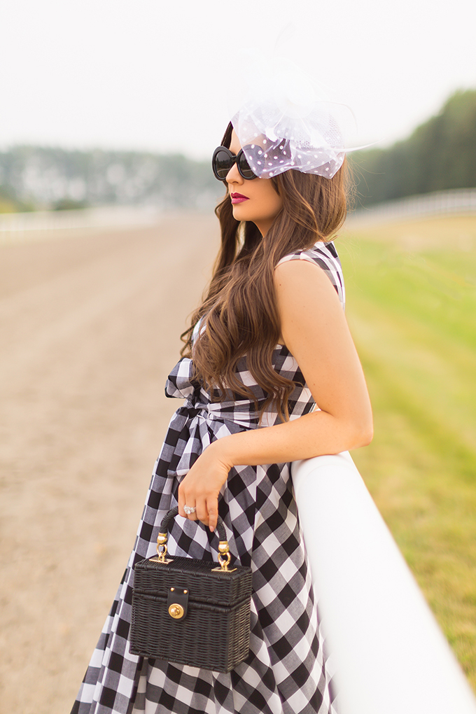 What to Wear to | A Horse Race // In Partnership with Saks OFF 5TH, Market Mall, Calgary | Calgary Fashion & Lifestyle Blogger // JustineCelina.com