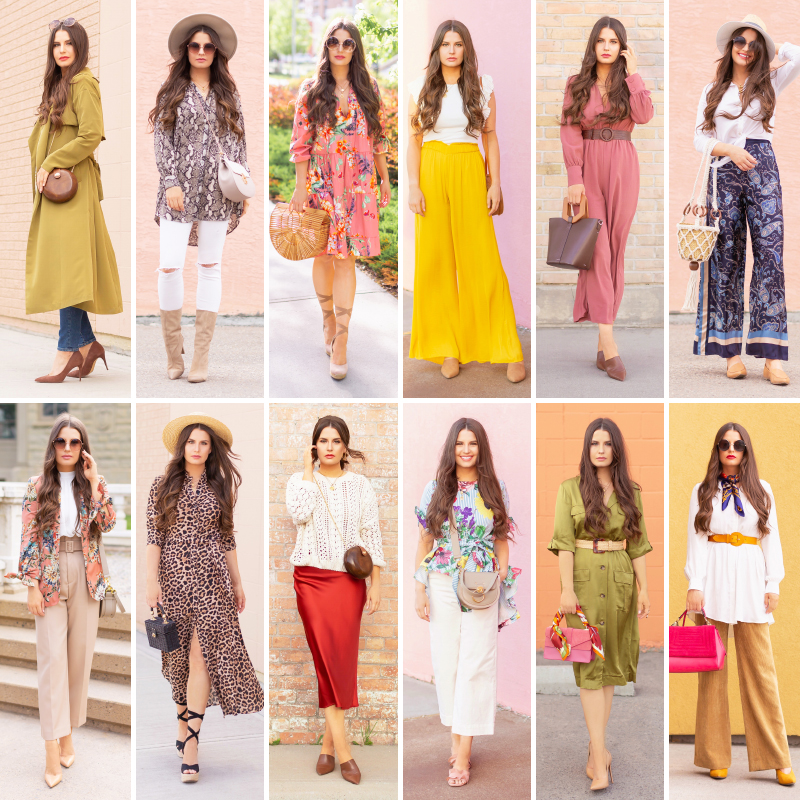 SPRING/SUMMER 2019 LOOKBOOK | 12 Spring/SummerOutfit Ideas for Personal and Professional Settings | Top Spring/Summer 2019 Trends and how to wear them | Spring Summer 2019 Fashion Trends | Spring Summer 2019 Trend forecast | Spring Summer 2019 Fashion Forecast | Fashion Over 30 | Professional Spring/Summer Outfits | Versatile Spring/Summer 2019 Outfits | Calgary Fashion & Lifestyle Blogger // JustineCelina.com