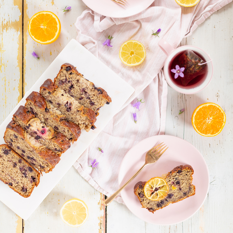 Gluten Free Saskatoon Citrus Banana Bread   Free of dairy, gluten and refined sugar and full of healthier, natural substitutions perfect for those with food allergies, intolerances or sensitivities   Best Saskatoon Berry Recipes   Saskatoon Berry Recipes Gluten Free   Clean Banana Bread Recipe   Saskatoon Banana Bread   Banana Saskatoon Loaf   Healthy Gluten Free Banana Bread   Calgary Clean Food Blogger, Recipe Developer and Food Stylist // JustineCelina.com