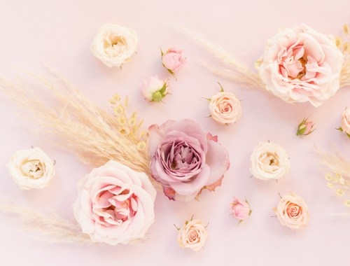 DIGITAL BLOOMS APRIL 2020 | FREE DESKTOP WALLPAPER | A soft, feminine, pastel rose FREE Desktop Wallpaper for Spring 2020 | Pastel Pink and Lavender Floral Tech Wallpaper for Spring | Free April Flower Tech Wallpapers | JustineCelina Spring 2020 Digital Blooms | Free Floral Desktop Wallpaper featuring Purple Haze Lavender Roses, Spray Roses, Pampas Grass and Foraged Prairie Grasses | Pampas Grass Free Tech Wallpaper | Pastel Bohemian Pampas Grass and Rose Tech Wallpaper // JustineCelina.com