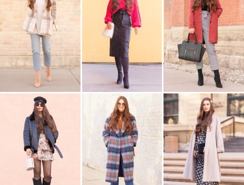 WINTER / SPRING 2020 LOOKBOOK | 2020 Fashion Trends | Transitional Wardrobe Staples | Fashion Over 30 | Casual Winter to Spring Outfit Ideas | Top Transitional Winter to Spring 2020 Trends | Canadian Winter / Spring Lookbook | How to Wear Spring 2020's Mini Dress | Transitional Winter to Spring Fashion for Canadians // JustineCelina.com