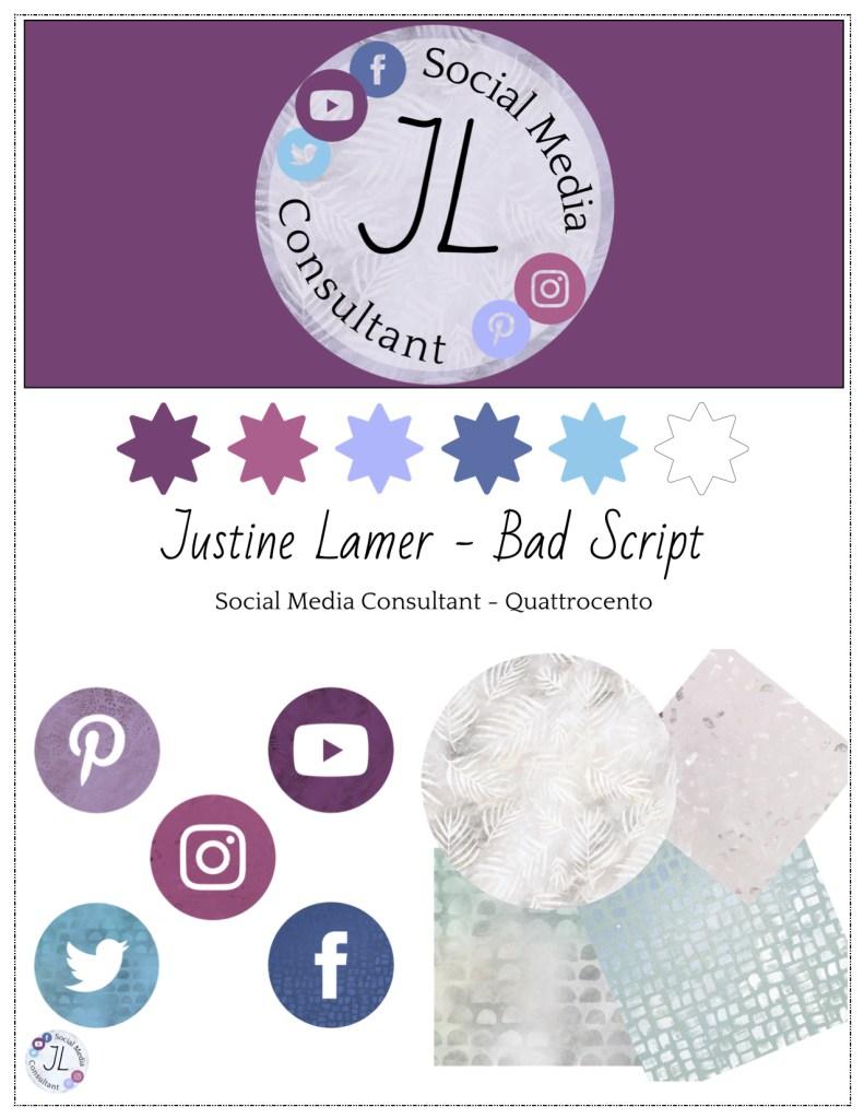 Brand Sheet justinelamer
