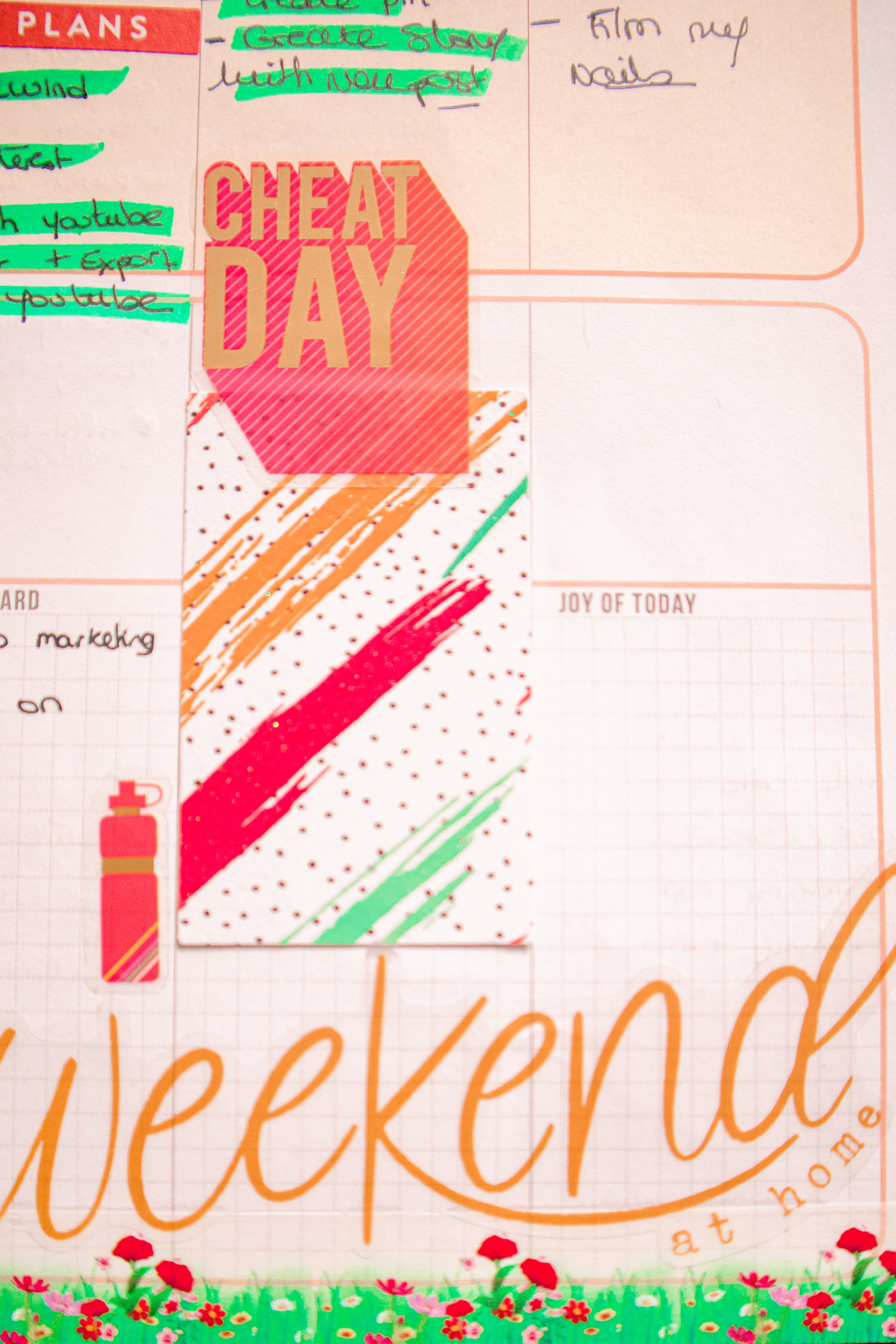 HOW I STAY ORGANIZED DURING THE WEEK USING THE HAPPY PLANNER