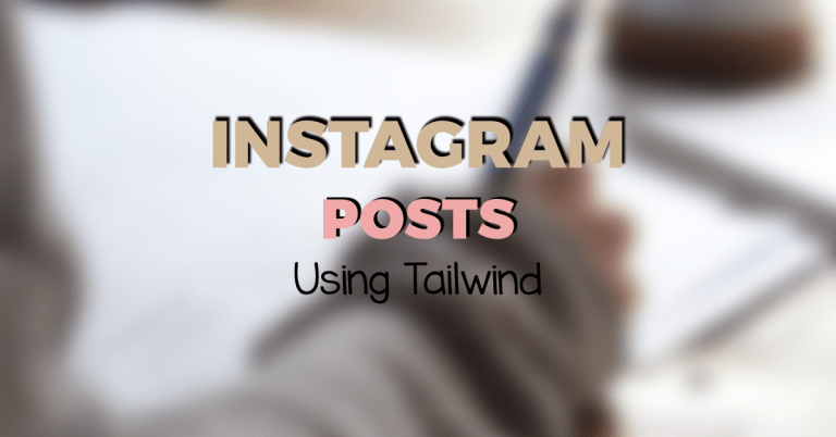 How to schedule Instagram posts using Tailwind